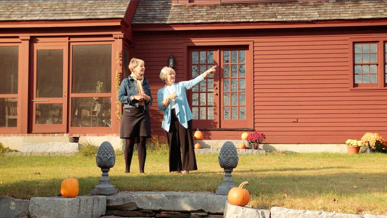 Sue Quatrini of William Raveis Real Estate shows a beautifully restored Vermont farmhouse